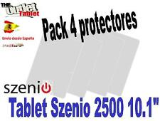 "** Pack 4 Protectores de pantalla para Tablet Szenio 2500 10.1"" Szenio 2000"