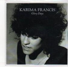 (DL950) Karima Francis, Glory Days - DJ CD