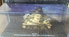 DIE CAST TANK  M3 LEE ARMOURED DIVISION EGYPT 1942 LEVARE (BRITSH ARMY) 1/72