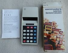 Commodore 776M Pocket Rechargeable Electronic Calculator