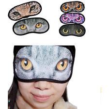 Eye Mask Sleep Travel Padded Shade Cover Rest Relax Sleeping Blindfold liau