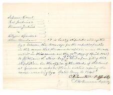 1840 Geneva, Ontario County, New York Supreme Court Document Filed May 12