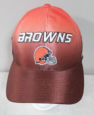 Cleveland Browns NFL Puma Authentic Pro Line Men's Orange Brown Hook & Loop Hat