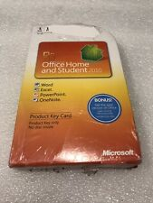 Microsoft Office Home Student 2010 Full Retail Key Card 1 PC License New