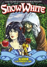 Snow White (1916) / Aladdin and the Wonderful Lamp (1917) NEW DVD