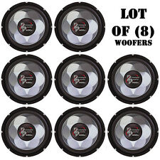 "Lot of (8) Pyramid PW677X 6"" 300 Watt Subwoofers, For Car Audio, Marine Audio"