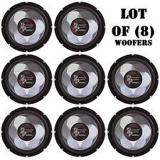 "Lot of (8) Pyramid PW677X 6"" 300 Watt Subwoofers, For Car Audio, Marine Audio"