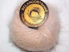 New listing Elegant Nude Classique Galler Belangor 100% Angora Rabbit Fur X-Soft Luxury Yarn