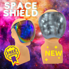 New 2021 Fashion Mirrored Reflective Plastic Face Mask Shield SPACE Sunglasses