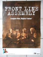 FRONT LINE ASSEMBLY  2010  orig.Concert-Konzert-Tour-Poster-Plakat DIN A1 .