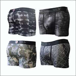 Cotton Street Style Trunks 4 Pack