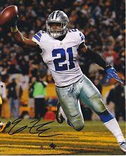 Ezekiel Elliott Dallas Cowboys autographed 8x10 photograph RP