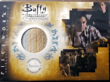 Buffy 10th Anniversary Pieceworks Chase Card PW-6 Xander Costume Card