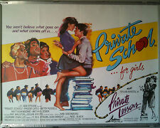 Cinema Poster: PRIVATE SCHOOL FOR GIRLS/PRIVATE LESSONS 1972/1981 (Quad) Krystal