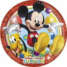 Disney Mickey Mouse Clubhouse Party 23cm Paper Plates - 8 pack