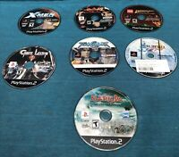 Lot Of 7 Playstation 2 Games/ PS 2 Disc Only Tested Chaos Legion Final Fantasy