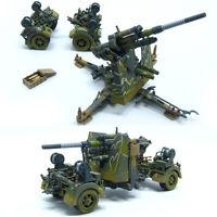 New 1/72 Scale WWII German FLAK 36 Type 88mm Gun Metal + Plastic Display Model