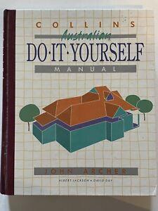 Collins Australian Do It Yourself Manual John Archer Vintage Hardback 1991 DIY