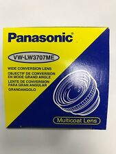 PANASONIC VW-LW3707ME WIDE CONVERSION LENS WITH CASE - NEW BOXED