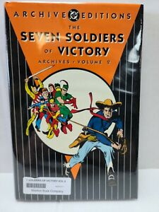 Seven Soldiers of Victory   DC Archive Edition Vol 2  Hardcover 2007   Sealed