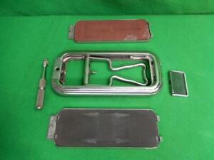 Vintage England Rolls Razor Safety Razor Shaving Kit w/ Case and Strops COMPLETE