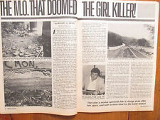 October-1988 Official Detective Magazine(JEFFREY  HILL/STEVE  LORKE/JIM SCHNICK)
