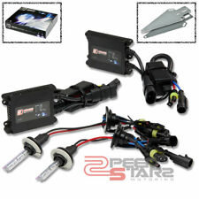 10000K BLUE HID XENON CONVERSION KIT+H7 BULB HIGH BEAMS HEADLIGHTS+SLIM BALLAST
