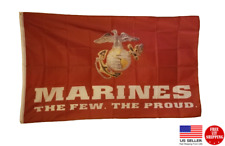 MARINES THE FEW THE PROUD  3 x 5 Flag 3x5 Banner Man Cave Flags USA New