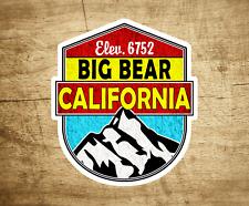 """BIG BEAR California Decal Sticker Skiing Ski Mountain 3"""" x 2.75"""" Hiking"""