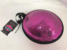 Boobie Bubble Sticky Bra Travel Case Purse, Pink, New