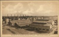 Arco Glynn County GA Atlantic Refining Co Plant c1920s Postcard