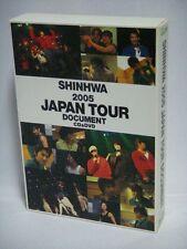 SHINHWA 2005 JAPAN TOUR DOCUMENT CD & DVD BOX