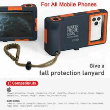 Universal Phone Waterproof Case Underwater Diving Camera F2X8 Cover 11 Pro C7Q9