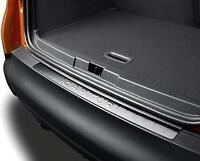 Genuine Renault Captur Trunk Guard Protecter Rear Bumper Step Chrome Strip