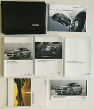 2014 Audi Tt Tts Coupe Owner's Manual with Case Oem Excellent Used Condition