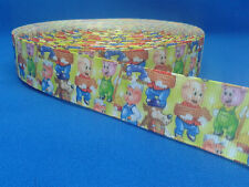 1 metre length of Three Little Pigs design Cake/Hair/craft ribbon @ MrsMario's