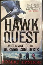 Hawk Quest Limited Edition Hardback 1st Print Signed Robert Lyndon