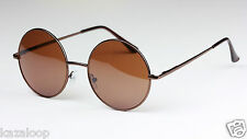 New Quality Classic Round Sunglasses Mens Womens