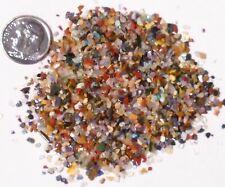 100+carats Lot Natural Stones Very Teeny Tiny Multicolor Tumbled Mosaic Crafts