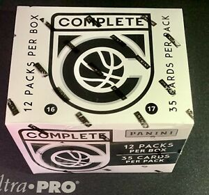 2016-17 Panini Complete Basketball Fat Pack Box Factory Sealed