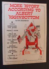 G H Godwin - More 'istory According To Albert 'igginbottom - Verse Humour - pb