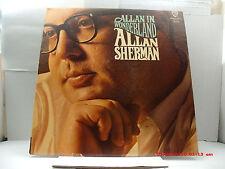 ALLAN SHERMAN -(LP)- ALLAN IN WONDERLAND - YOU NEED AN ANALYST WARNER BROS.-1963