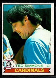 1979 O-PEE-CHEE BASEBALL ST. LOUIS CARDINALS TED SIMMONS CARD #267 HOF NM