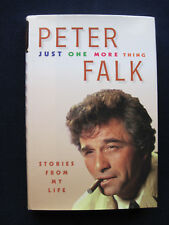 JUST ONE MORE THING - SIGNED by PETER FALK - His Memoirs, 1st Edition & Printing