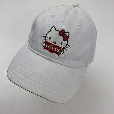 Levi's Hello Kitty Women's Ball Cap Hat Snapback Baseball