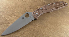 Couteau Spyderco Endura 4 Brown Acier VG-10 Manche FRN Made In Japan SC10FPBN