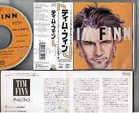 TIM FINN Tim Finn JAPAN CD CPW32-5844 w/OBI+INSERT 1989 issue Split Enz Free S&H