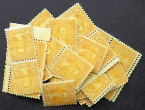 EDW1949SELL : USA 1927 Scott #642. 50 stamps. Fine-Very Fine, Mint NH. Cat $275.