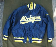 Authentic Michigan Baseball Jacket, A Classic from the Late 1980s