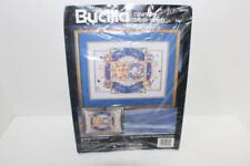 "Bucilla 40743 Celestial Picture or Pillow Counted Cross Stitch Kit 16""x12""  open"